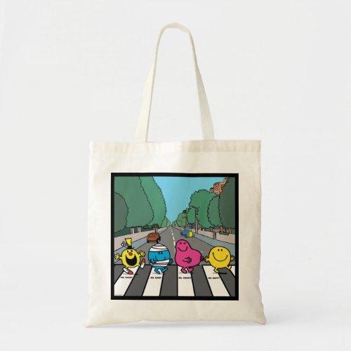 Mr Men Abbey Road Walkers Tote Bag