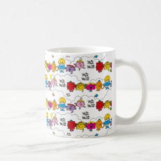 Mr Men & Little Miss | All In A Row Coffee Mug
