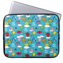 Mr Men & Little Miss | Birds & Balloons In The Sky Laptop Sleeve