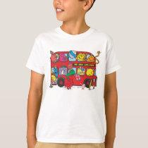 Mr. Men & Little Miss Crowded Bus T-Shirt