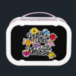 "Mr. Men Little Miss | Group Logo Lunch Box<br><div class=""desc"">Mr. Men and Little Miss in a cute combined logo.</div>"
