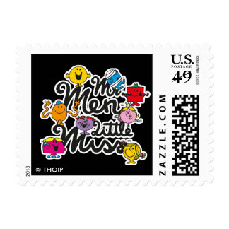 Mr. Men Little Miss | Group Logo Postage