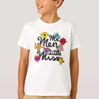 Mr. Men Little Miss | Group Logo T-Shirt