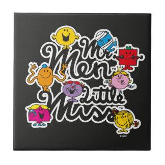 Mr. Men Little Miss   Group Logo Tile