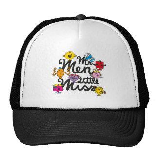 Mr. Men Little Miss   Group Logo Trucker Hat