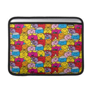 Mr Men & Little Miss | In A Crowd Pattern MacBook Sleeve
