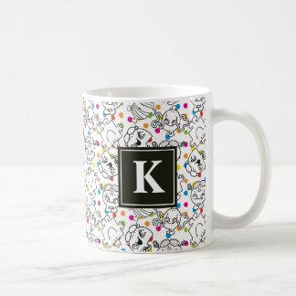 Mr Men & Little Miss | Rainbow Polka Dots Pattern Coffee Mug