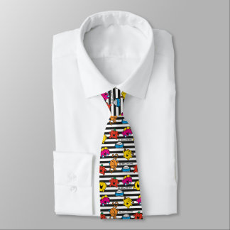 Mr Men & Little Miss | Stripes Pattern Neck Tie