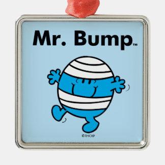 Mr. Men   Mr. Bump is a Clutz Metal Ornament