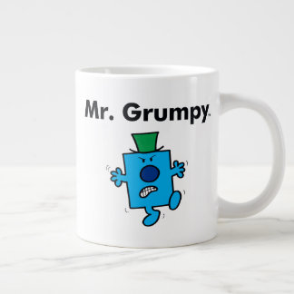 Mr. Men   Mr. Grumpy is a Grump Giant Coffee Mug