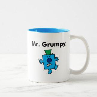 Mr. Men | Mr. Grumpy is a Grump Two-Tone Coffee Mug