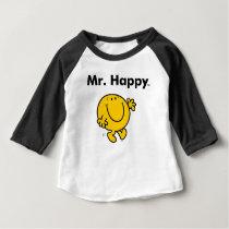 Mr. Men | Mr. Happy Is Always Happy Baby T-Shirt