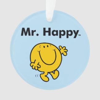 Mr. Men   Mr. Happy Is Always Happy Ornament