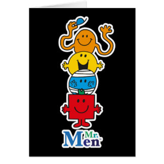 Mr. Men | Mr. Men Standing Tall Card
