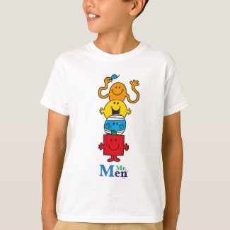 Mr. Men | Mr. Men Standing Tall T-Shirt