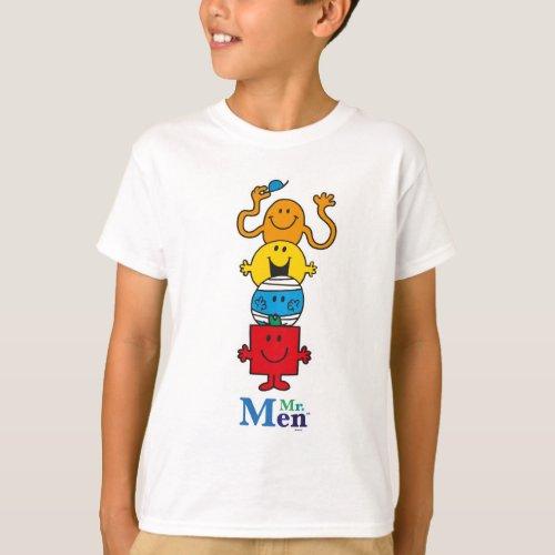 Mr Men  Mr Men Standing Tall T_Shirt