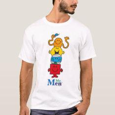Mr. Men   Mr. Men Standing Tall T-shirt at Zazzle