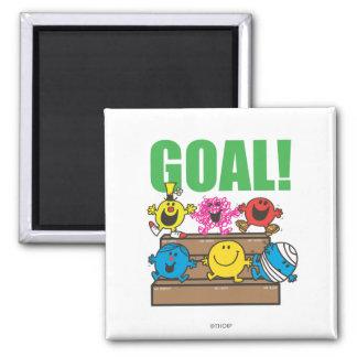 Mr. Men Soccer Fans | Goal Magnet