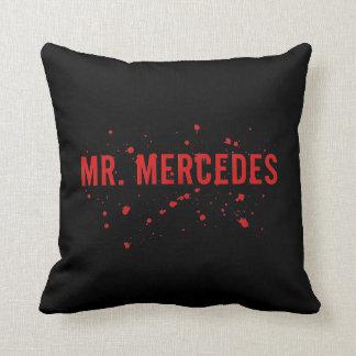 Mr. Mercedes Logo Throw Pillow