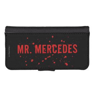 Mr. Mercedes Logo Wallet Phone Case For iPhone SE/5/5s