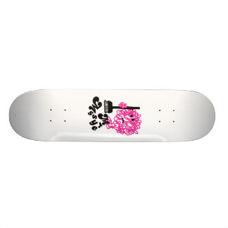 Mr. Messy | Broom & Name Skate Board