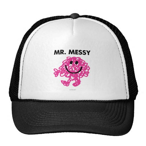 Mr Messy Classic 2 Trucker Hats