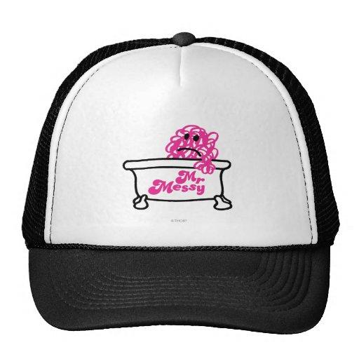 Mr Messy Logo 4 Trucker Hats