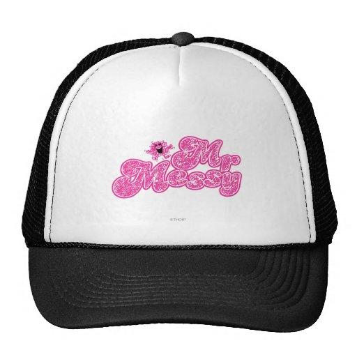 Mr Messy Logo 6 Trucker Hat