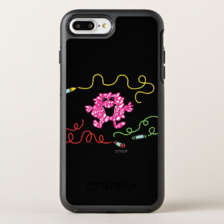Mr. Messy Playing With Crayons OtterBox Symmetry iPhone 7 Plus Case