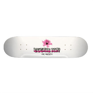 Mr. Messy Says Clean Up Skateboard Deck