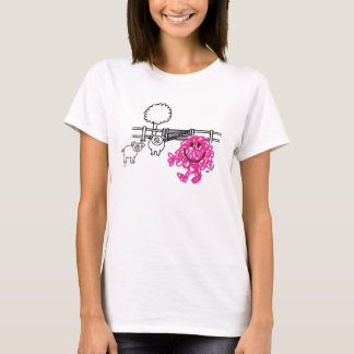 Mr. Messy & Two Pigs T-Shirt