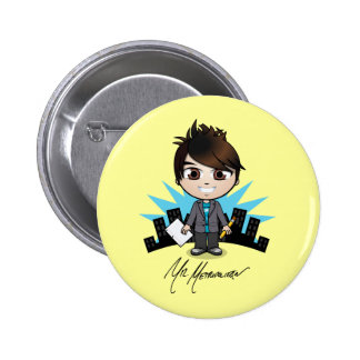 """Mr. Metropolitan"" Button"