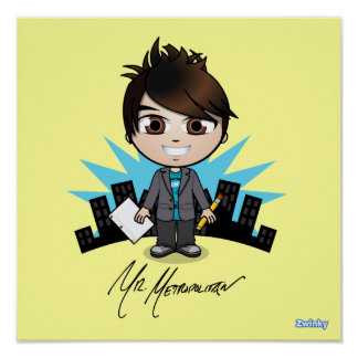 """Mr. Metropolitan"" Poster"