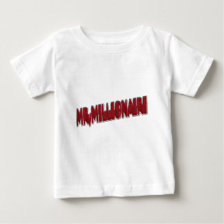 MR,Millionaire Red 3 Dimension Baby T-Shirt