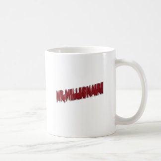 MR,Millionaire Red 3 Dimension Coffee Mug