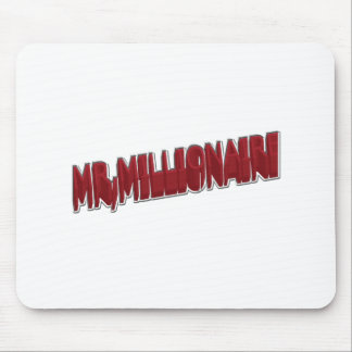 MR,Millionaire Red 3 Dimension Mouse Pad