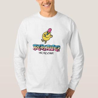 Mr. Mischief | Behave T-Shirt