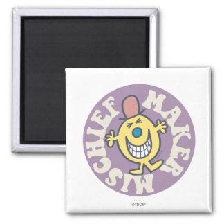 Mr. Mischief | Mischief Maker 2 Inch Square Magnet