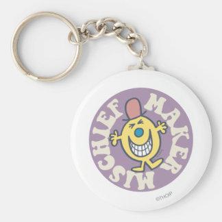 Mr. Mischief | Mischief Maker Basic Round Button Keychain