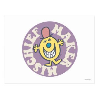 Mr. Mischief | Mischief Maker Postcard
