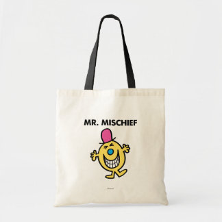 Mr. Mischief | Smiling Gleefully Tote Bag