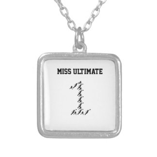 Mr./Miss Ultimate Silver Plated Necklace