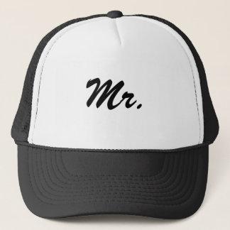 Mr./Mister/Honeymoon Trucker Hat