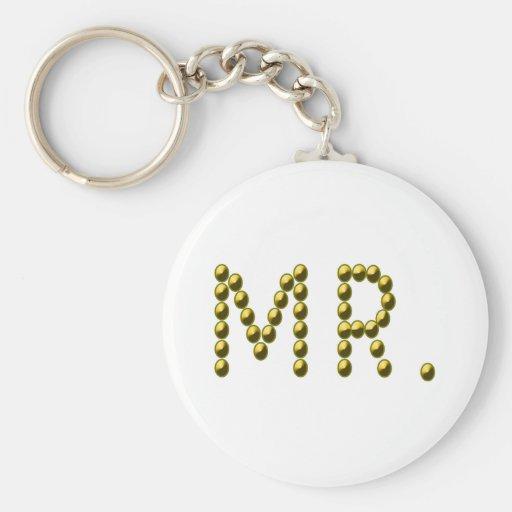 Mr Mister Keychain