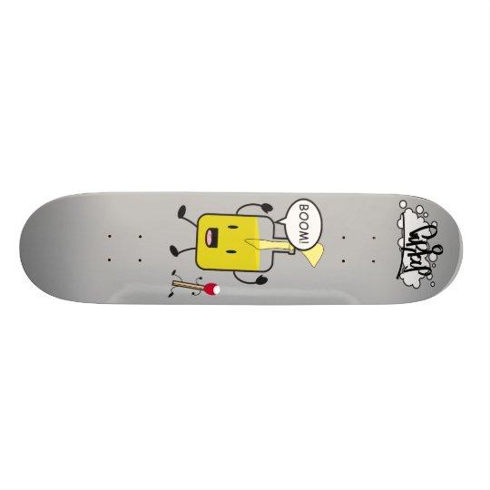 Mr. Molotov and friend Skateboard Deck