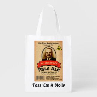 Mr. Molotov's Pale Ale Label Market Tote