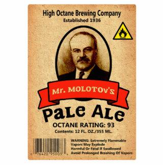 Mr. Molotov's Pale Ale Label Statuette