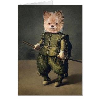 Mr. Monks Renaissance Card