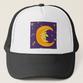 Mr Moon Cover Trucker Hat