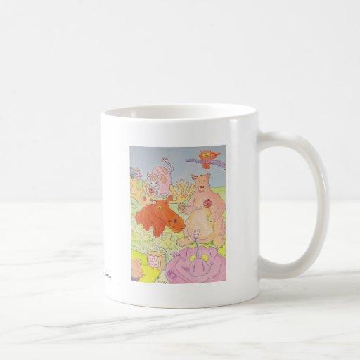 Mr Moose and Co. Classic White Coffee Mug
